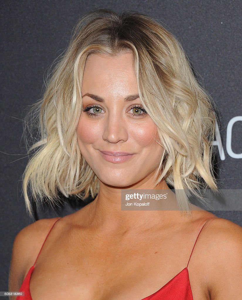 Actress Kaley Cuoco arrives at the 2016 InStyle And Warner Bros. 73rd Annual Golden Globe Awards Post-Party at The Beverly Hilton Hotel on January 10, 2016 in Beverly Hills, California.