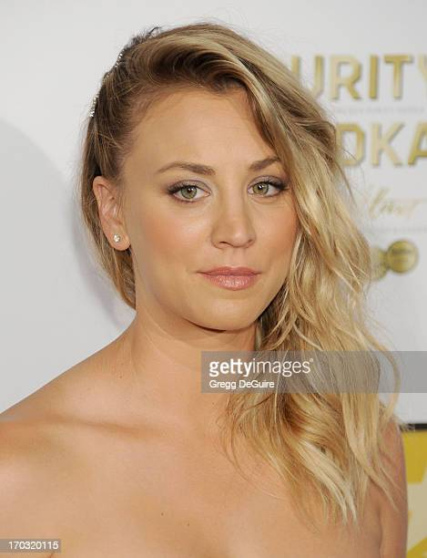 Actress Kaley Cuoco arrives at the Broadcast Television Journalists Association 3rd Annual Critics' Choice Television Awards at The Beverly Hilton...