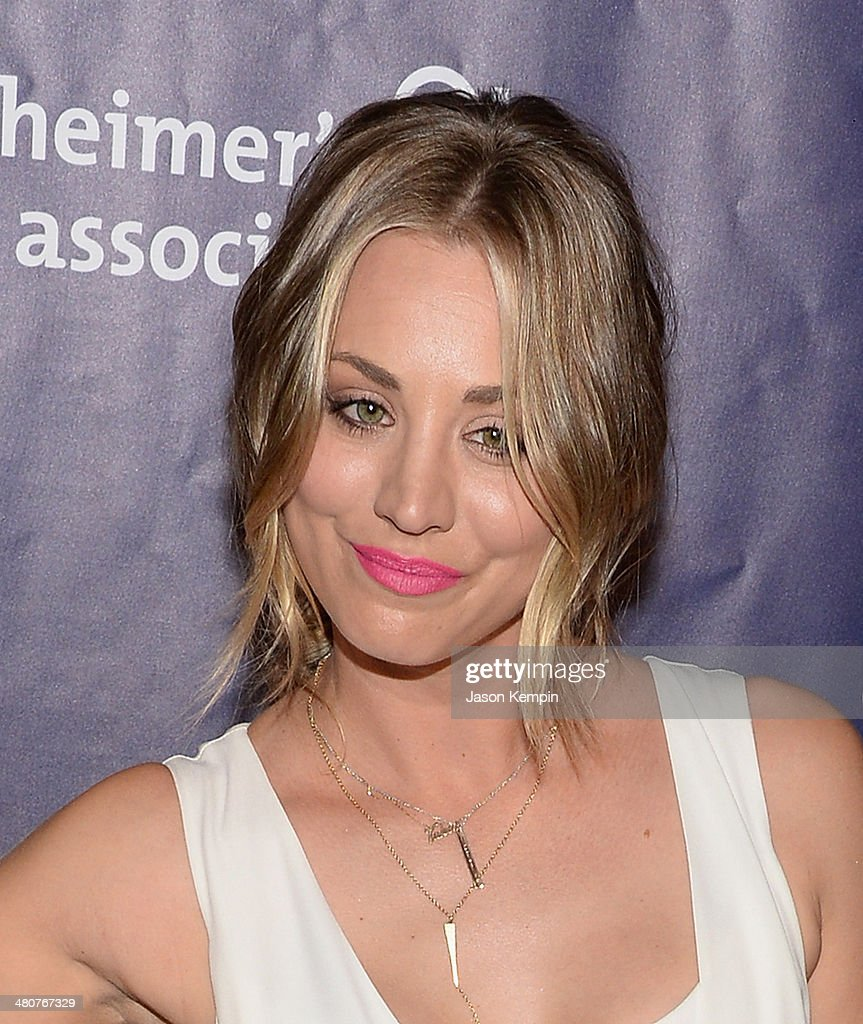 Actress Kaley Cuoco attends 22nd A Night At Sardi's at The Beverly Hilton Hotel on March 26, 2014 in Beverly Hills, California.