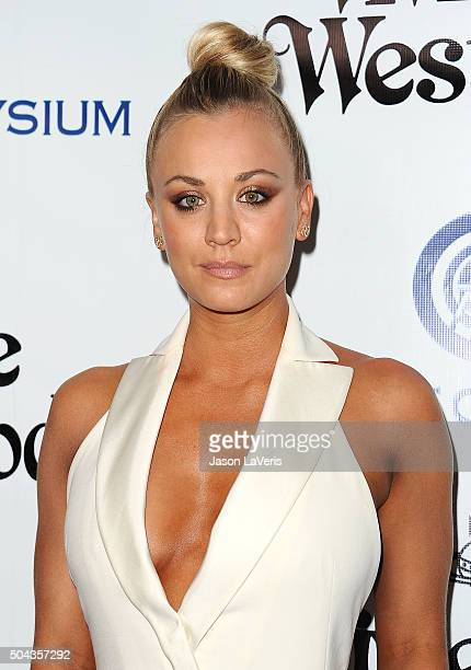 Actress Kaley Cuoco attends Art of Elysium's 9th annual Heaven Gala at 3LABS on January 9 2016 in Culver City California