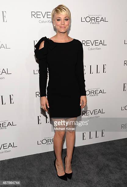 Actress Kaley Cuoco attends ELLE's 21st Annual Women in Hollywood Celebration at the Four Seasons Hotel on October 20 2014 in Beverly Hills California
