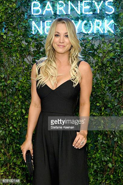 Actress Kaley Cuoco attends Fergie First Lady of Los Angeles Amy Elaine Wakeland Barneys New York Host Dinner to Welcome Cindi Leive Glamour's 2016...