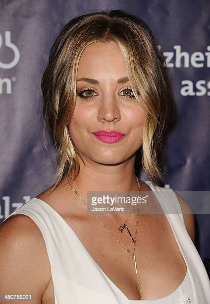 Actress Kaley Cuoco attends the 22nd A Night At Sardi's at The Beverly Hilton Hotel on March 26 2014 in Beverly Hills California