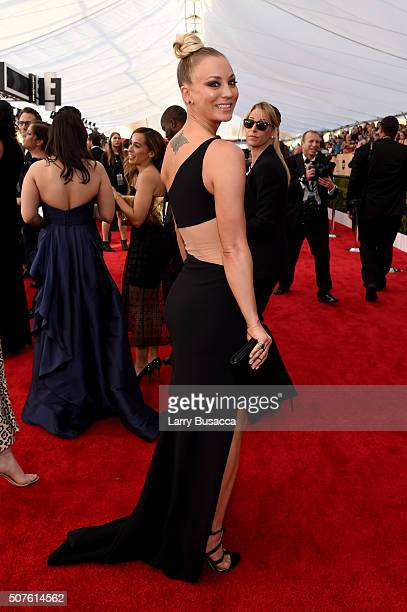 Actress Kaley Cuoco attends The 22nd Annual Screen Actors Guild Awards at The Shrine Auditorium on January 30 2016 in Los Angeles California 25650_014