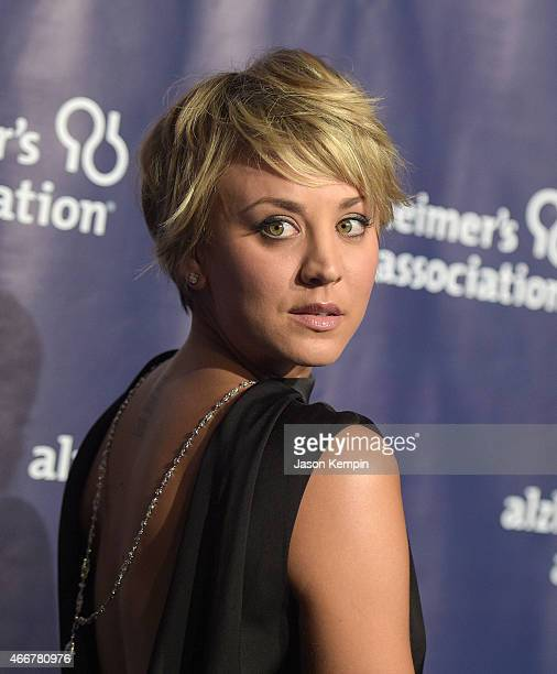 Actress Kaley Cuoco attends the 23rd Annual 'A Night At Sardi's' To Benefit The Alzheimer's Association at The Beverly Hilton Hotel on March 18 2015...