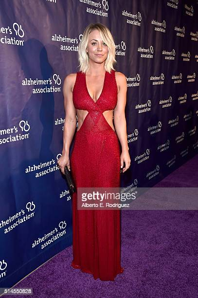 Actress Kaley Cuoco attends the 24th and final 'A Night at Sardi's' to benefit the Alzheimer's Association at The Beverly Hilton Hotel on March 9...