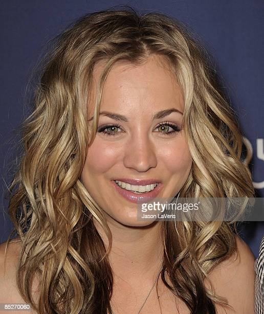 Actress Kaley Cuoco attends the Alzheimer's Association's 17th annual A Night at Sardi's fundraiser at the Beverly Hilton Hotel on March 4 2009 in...