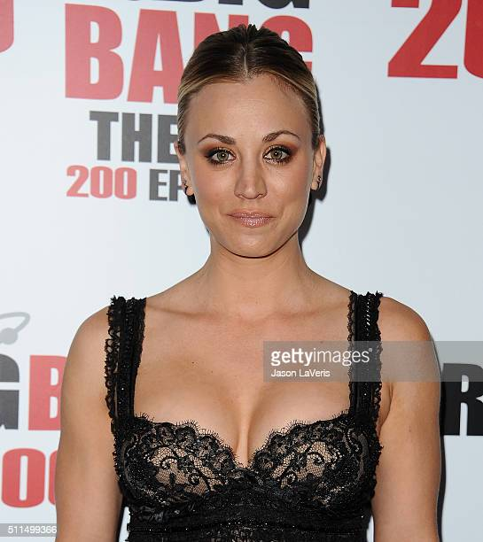 """Actress Kaley Cuoco attends """"The Big Bang Theory"""" 200th episode celebration at Vibiana on February 20, 2016 in Los Angeles, California."""
