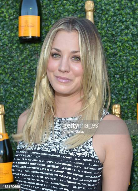Actress Kaley Cuoco attends The FourthAnnual Veuve Clicquot Polo Classic Los Angeles at Will Rogers State Historic Park on October 5 2013 in Pacific...