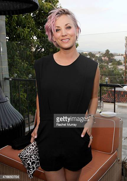 Actress Kaley Cuoco attends the Longines Masters of Los Angeles welcoming event at the Petit Ermitage in West Hollywood CA on June 10 2015