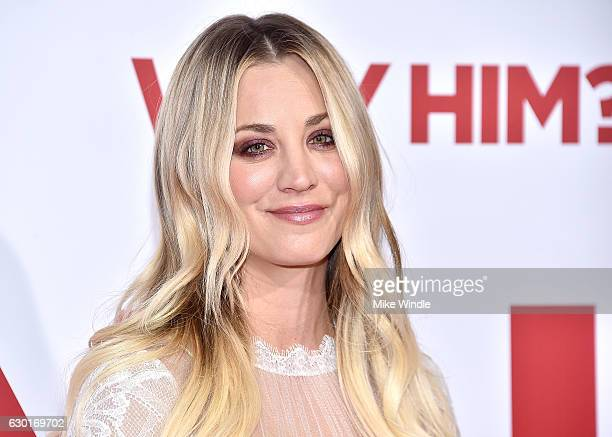 "Actress Kaley Cuoco attends the premiere of 20th Century Fox's ""Why Him?"" at Regency Bruin Theater on December 17, 2016 in Westwood, California."