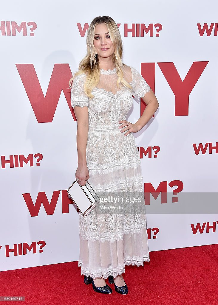 Actress Kaley Cuoco attends the premiere of 20th Century Fox's 'Why Him?' at Regency Bruin Theater on December 17, 2016 in Westwood, California.