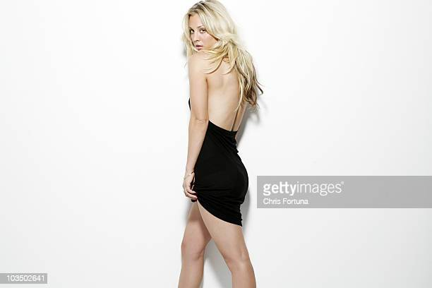 Actress Kaley Cuoco is photographed for Maxim Magazine on January 16 2010 in Los Angeles California