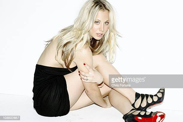 Actress Kaley Cuoco is photographed for Maxim Magazine on January 16, 2010 in Los Angeles, California.