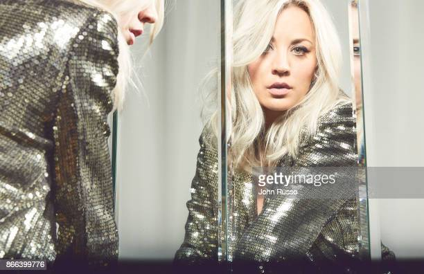 Actress Kaley Cuoco is photographed for New York Post on August 16 2017 in Los Angeles California