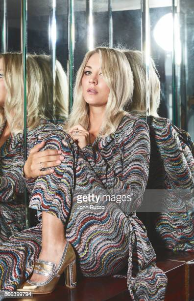 Actress Kaley Cuoco is photographed for New York Post on August 16 2017 in Los Angeles California PUBLISHED IMAGE