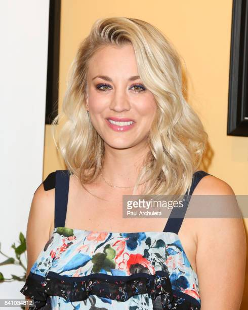 Actress Kaley Cuoco joins Panera Bread to launch the new Craft Beverage Station at Panera Bread on August 30, 2017 in Studio City, California.