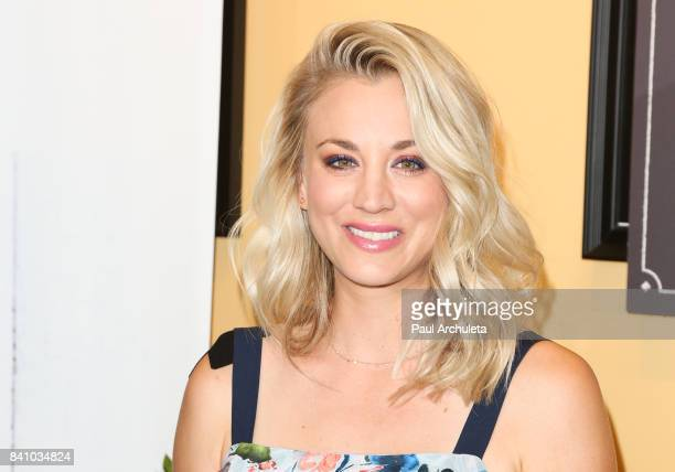 Actress Kaley Cuoco joins Panera Bread to launch the new Craft Beverage Station at Panera Bread on August 30 2017 in Studio City California