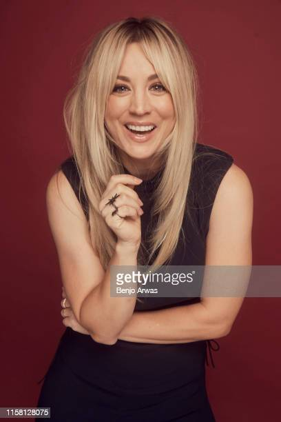Actress Kaley Cuoco of DC Universe's 'Harley Quinn' poses for a portrait during the 2019 Summer TCA Portrait Studio at The Beverly Hilton Hotel on...