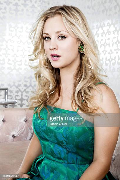 Actress Kaley Cuoco of The Big Bang Theory poses at a portrait session for TV Guide on September 20 Los Angeles California