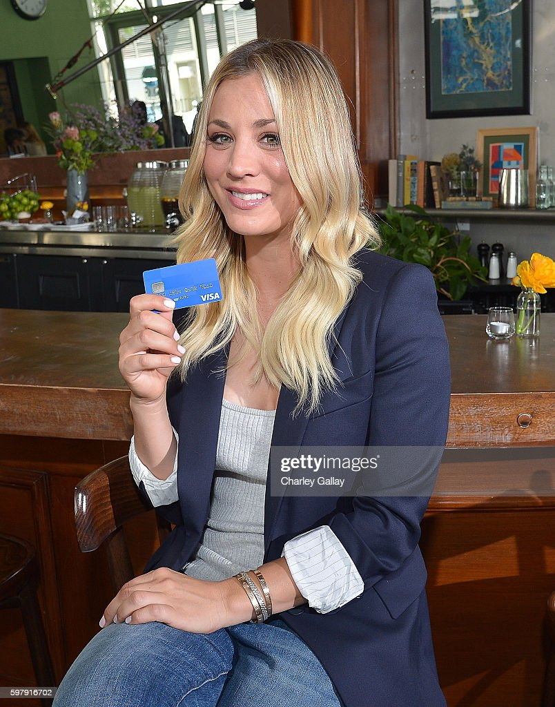 Visa Local Offers Shoot With Kaley Cuoco