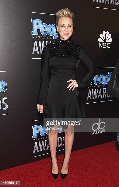 Actress Kaley Cuoco Sweeting attends the PEOPLE Magazine Awards at The Beverly Hilton Hotel on December 18 2014 in Beverly Hills California