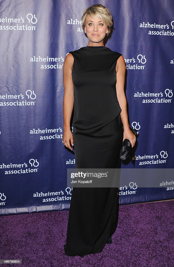 Actress Kaley Cuoco-Sweeting arrives at the 23rd Annual 'A Night At Sardi's' To Benefit The Alzheimer's Association at The Beverly Hilton Hotel on March 18, 2015 in Beverly Hills, California.