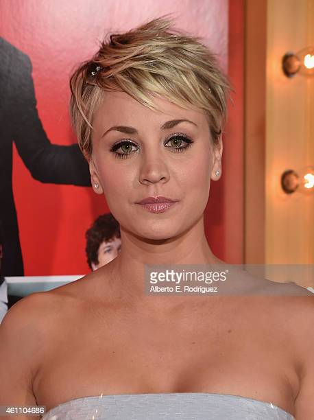 Actress Kaley CuocoSweeting arrives to the premiere of Screen Gems' 'The Wedding Ringer' at the TCL Chinese Theatre on January 6 2015 in Hollywood...
