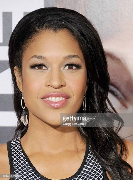 """Actress Kali Hawk arrives at the """"Identity Thief"""" Los Angeles premiere at Mann Village Theatre on February 4, 2013 in Westwood, California."""