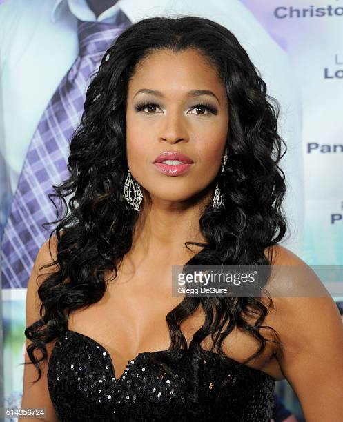 Actress Kali Hawk arrives at the premiere of Lionsgate's The Perfect Match at ArcLight Hollywood on March 7 2016 in Hollywood California