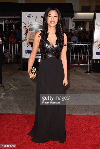 Actress Kali Hawk arrives at the premiere of Universal Pictures and Red Granite Pictures' Dumb And Dumber To on November 3 2014 in Westwood California