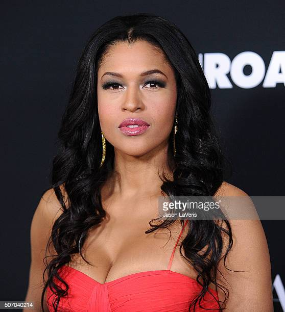 Actress Kali Hawk attends the premiere of Fifty Shades of Black at Regal Cinemas LA Live on January 26 2016 in Los Angeles California