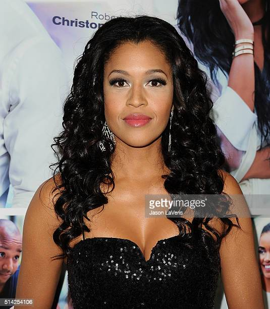 Actress Kali Hawk attends the premiere of The Perfect Match at ArcLight Hollywood on March 7 2016 in Hollywood California