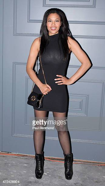 Actress Kali Hawk attends The Social Co Dinner Party hosted by Natalie Zfat and Chondra Sanchez at W Los Angeles – West Beverly Hills on May 6 2015...