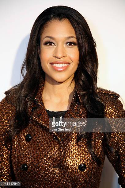 Actress Kali Hawk Disney's Zach Callison poses on the red carpet at The Guard A Heart tribute to Larry King at the Avalon Ballroom in Hollywood...