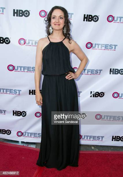 Actress Kali Rocha attends the 2014 Outfest Los Angeles Closing Night Gala of Space Station 76 at Ford Theatre on July 20 2014 in Hollywood California