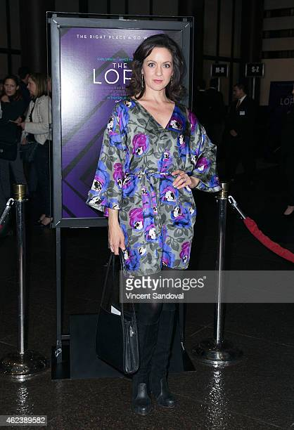 Actress Kali Rocha attends the Los Angeles special screening of The Loft at Directors Guild Of America on January 27 2015 in Los Angeles California