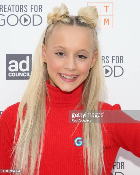 Actress Kameron Couch attends the Ad Council's Creators For Good Host She Can STEM Summit at NeueHouse Hollywood on October 11 2019 in Los Angeles...
