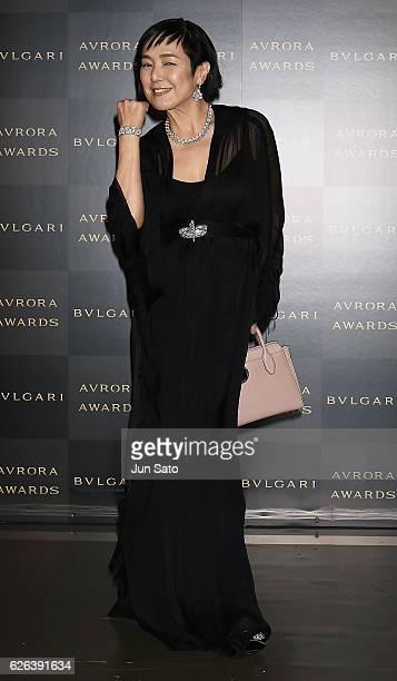 Actress Kaori Momoi attends the Bvlgari Avrora Awards at the Midtown Square on November 29 2016 in Tokyo Japan