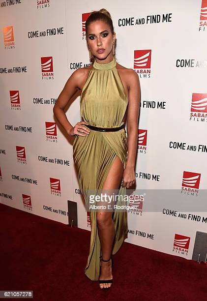 Actress Kara Del Toro attends the premiere of Saban Films' Come And Find Me at Pacific Theatre at The Grove on November 3 2016 in Los Angeles...