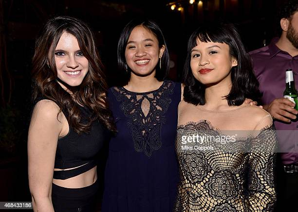 Actress Kara Hayward and guests attend 'The Sisterhood Of Night' NY Premiere and After Party on April 2 2015 in New York City