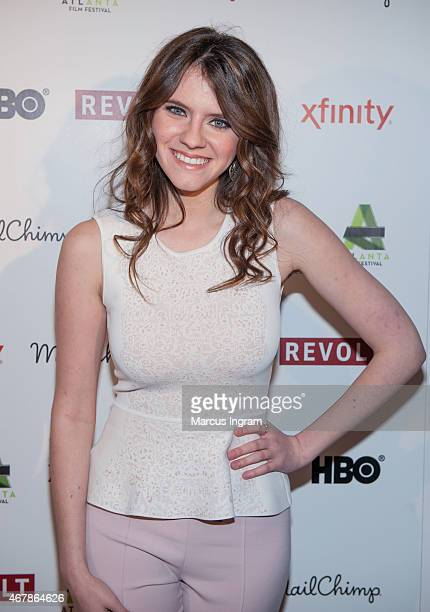 Actress Kara Hayward attends 2015 Atlanta Film Festival 'The Sisterhood Of Night' movie screening at The Plaza Theatre on March 27 2015 in Atlanta...