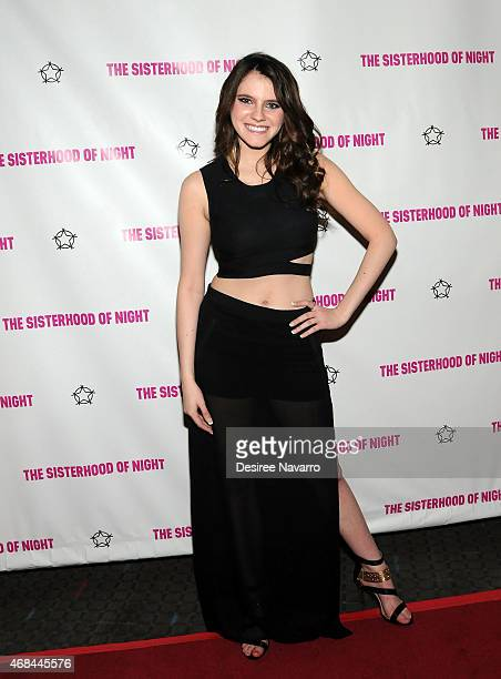 Actress Kara Hayward attends 'The Sisterhood Of Night' New York Premiere at SVA Theater on April 2 2015 in New York City