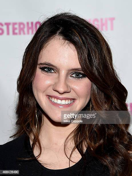 Actress Kara Hayward attends 'The Sisterhood Of Night' NY Premiere and After Party on April 2 2015 in New York City