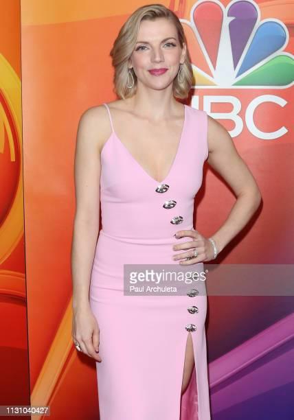Actress Kara Killmer attends the NBC's Los Angeles midseason press junket at NBC Universal Lot on February 20 2019 in Universal City California