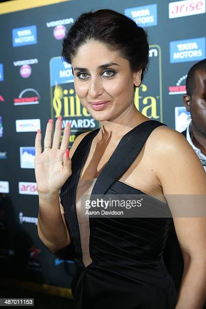 Actress Kareena Kapoor arrives to the IIFA Awards at Raymond James Stadium on April 26 2014 in Tampa Florida