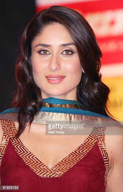 Actress Kareena Kapoor at an event for the Make a Wish Foundation as part of the forthcoming Hindi film 'Main aurr MrsKhanna' in Mumbai on Sunday...