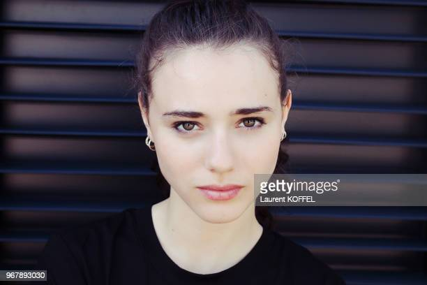 Actress Karelle Tremblay is photographed for Self Assignment on May 18 2016 in Cannes France