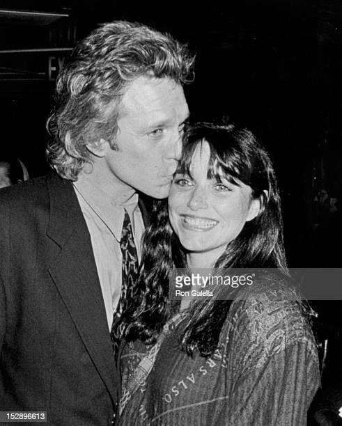 Actress Karen Allen and husband Kale Browne attending Sixth Annual Artois Awards on October 31 1990 at Rein Nightclub in New York City New York