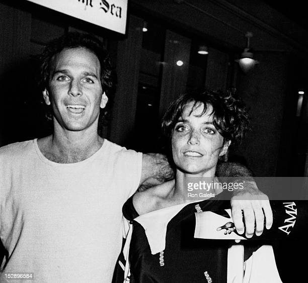 Actress Karen Allen and musician Stephen Bishop attending the premiere of 'Amadeus' on September 12 1984 at Loew's Tower East Theater in New York...